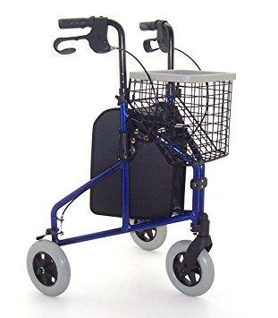 Z-Tec Folding Heavy Duty Extra Wide Steel Wheelchair – 510mm