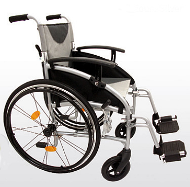 Z Tec Self Propelled Wheelchair